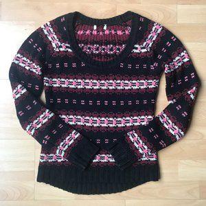 Black & Pink Sweater